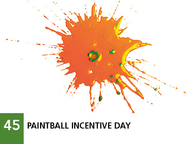 45 - Paintball incentive day